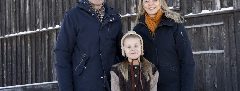 Lasse, Nora og Kirsti. Foto: Monica Hägglund Langen